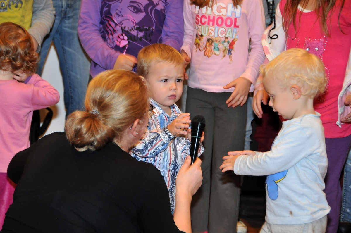 I najmanjima je ugodno na Obiteljskoj školi, dobiju priliku za izreći se